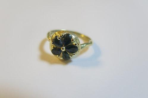 R33 - 14K Gold & Sapphires