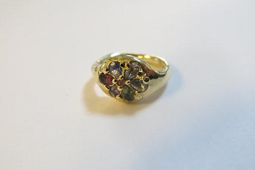 R30 - 14K Gold & Sapphires