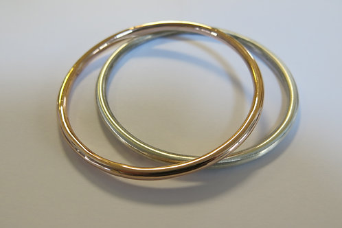 B36 - 14K Gold & Silver