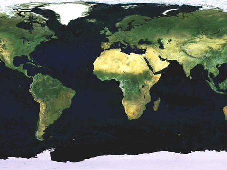 Ωκεανοί και θάλασσες: Αυτή είναι η εικόνα της Γης αν στεγνώσει [vid]