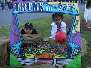 Our first Trunk-or-Treat was a HUGE success!