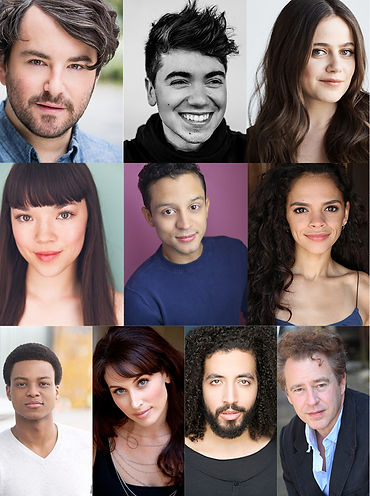 Cast photos for ALICE BY HEART