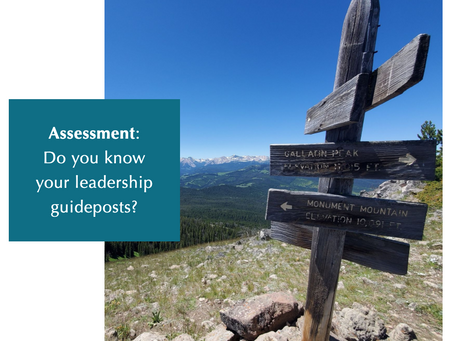 Do You Know Your Leadership Guideposts?