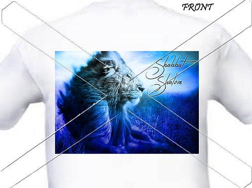 Shabbat Shalom - blue
