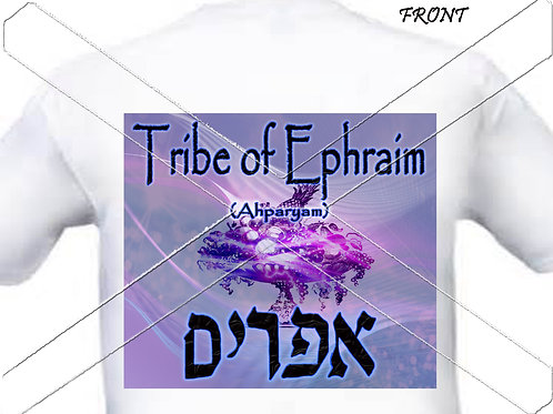 Tribe of Ephraim -purple t