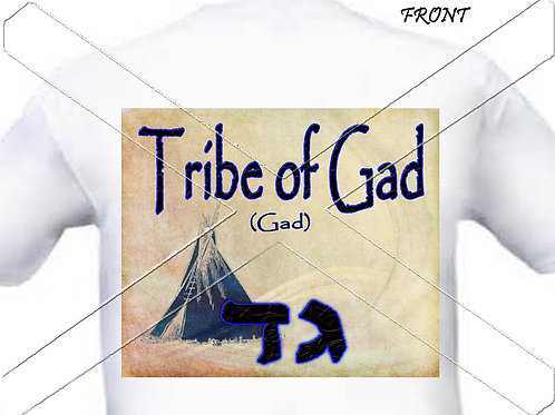 Tribe of Gad - navy t