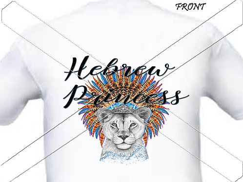 Hebrew Princess - blue feather