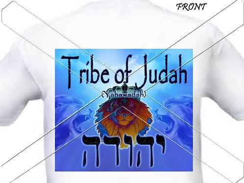 Tribe of Judah - gold t