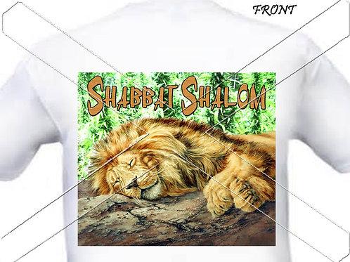 Shabbat Shalom - lion