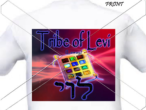 Tribe of Levi - red t