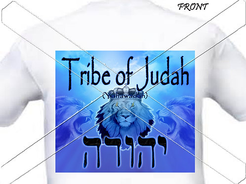 Tribe of Judah - blue t