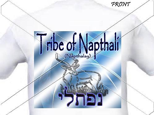 Tribe of Naphtali - blue t