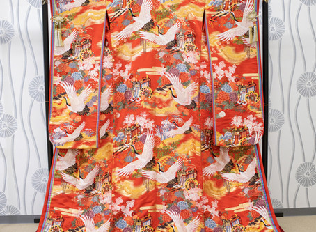 京都前撮りスターチスフォトグラフィーの色打掛 衣装