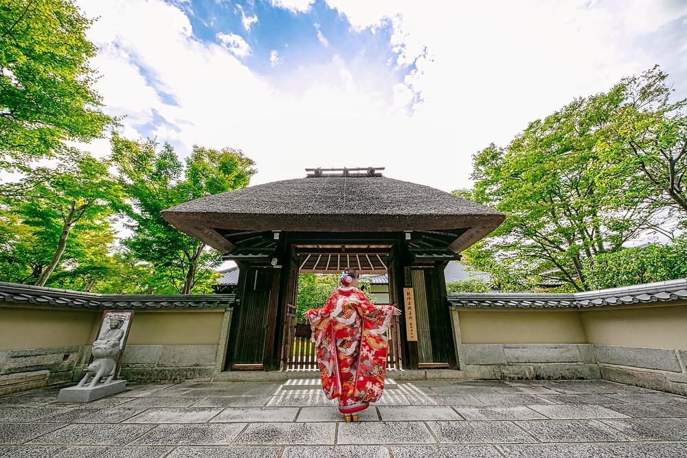 和装前撮り京都東山
