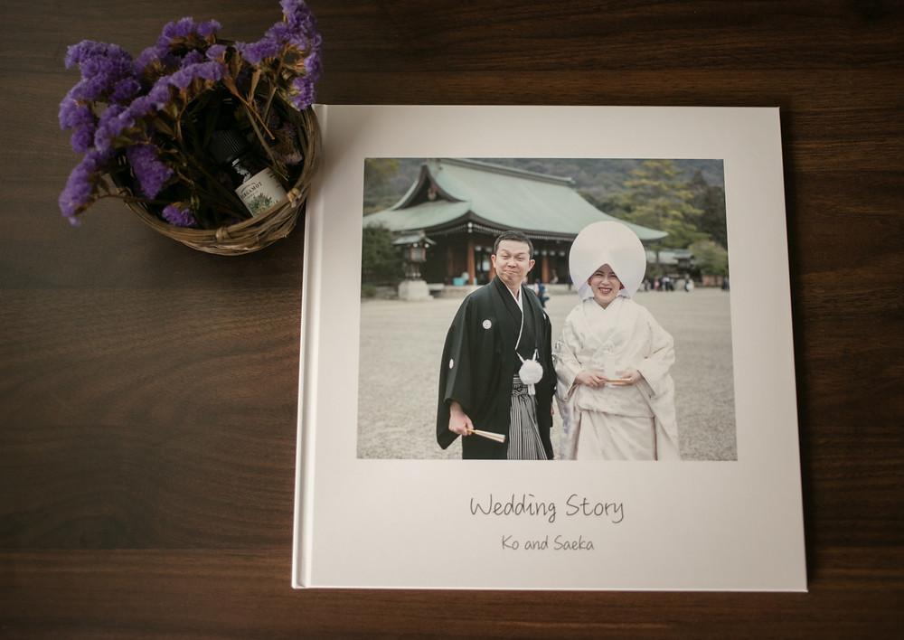 結婚式のアルバム