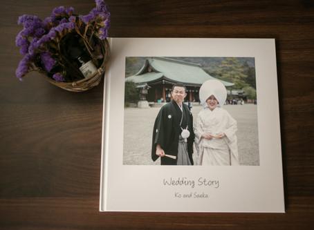 結婚式アルバムの話