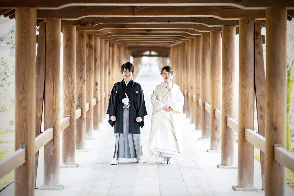 東福寺での前撮り