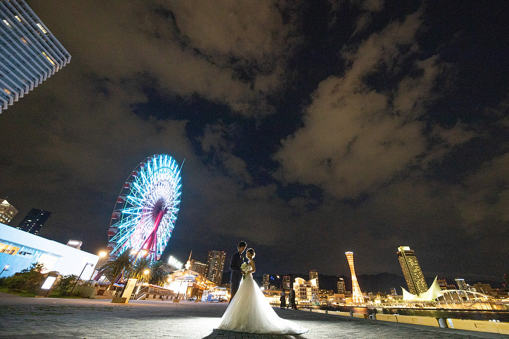 前撮り夜景神戸
