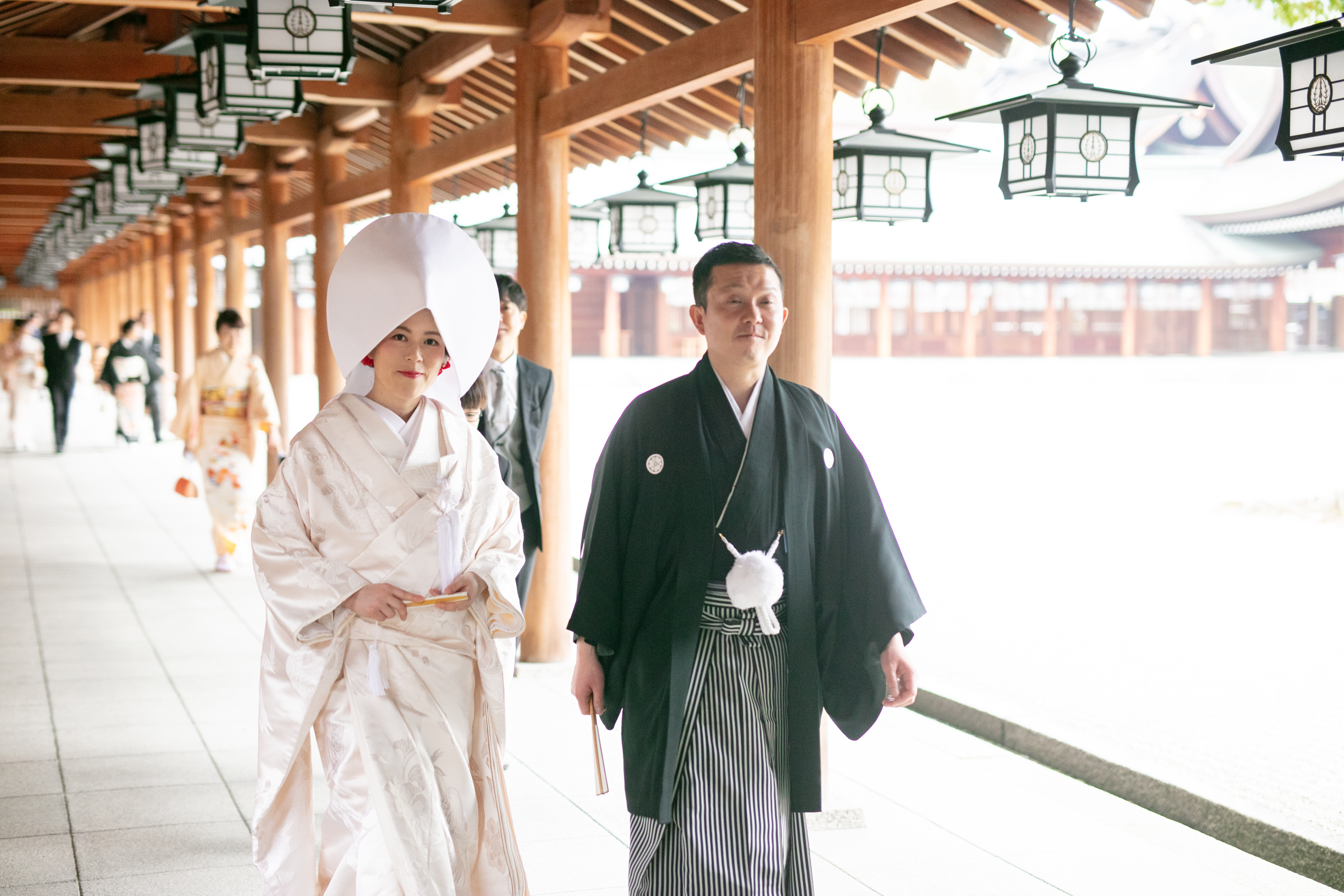 神社結婚式撮影
