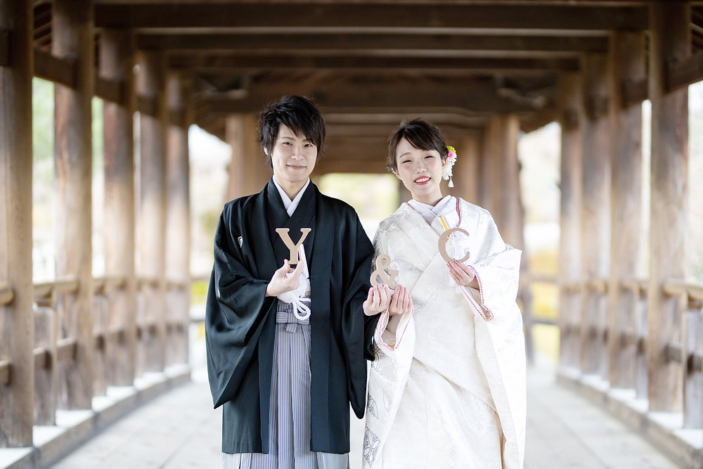 白無垢 前撮り 京都