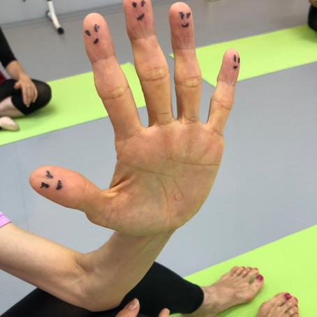 #19 カラダ教室2回目 手首~鎖骨・肩甲骨編