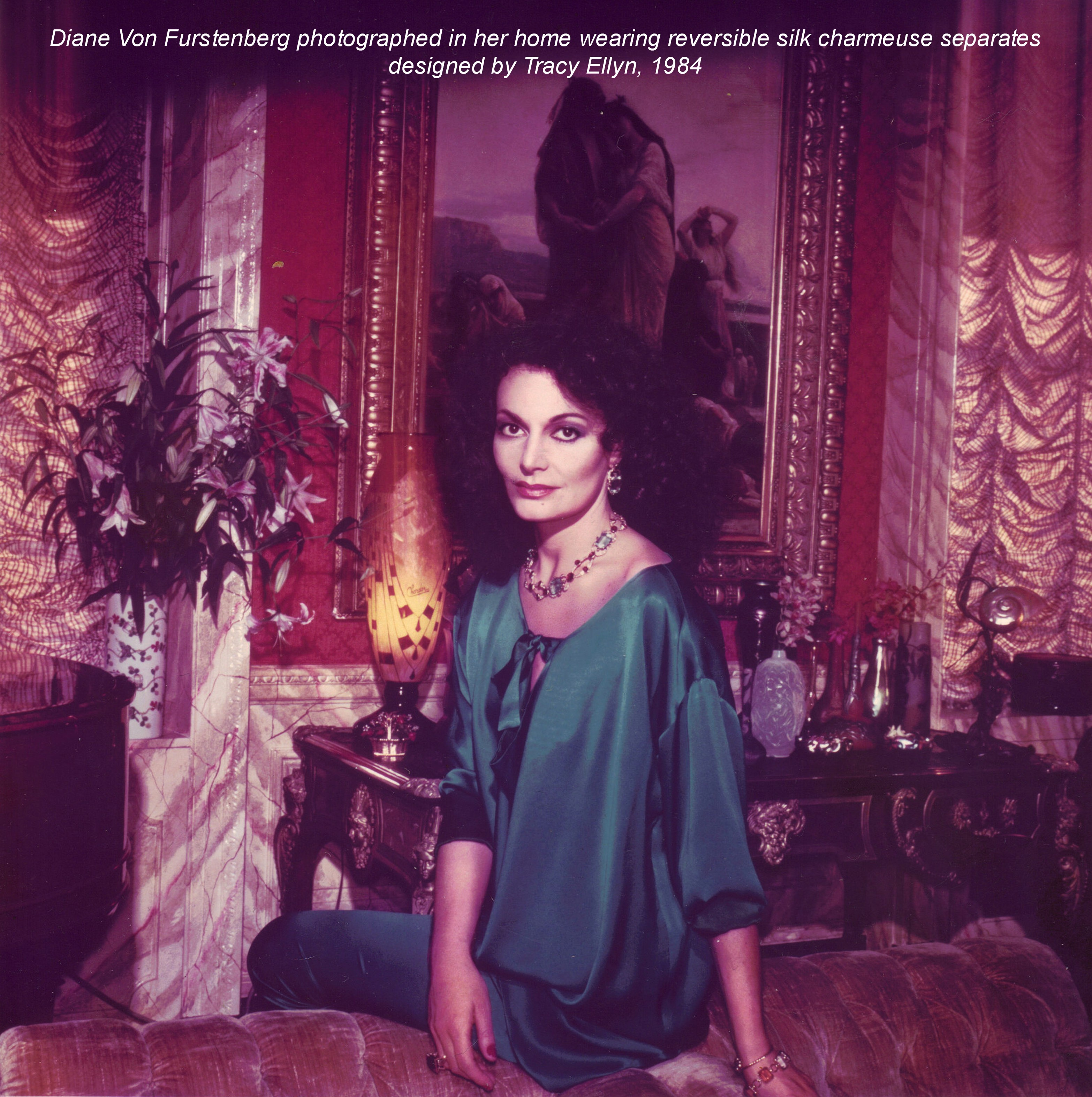 Tracy Ellyn for Diane Von Furstenber
