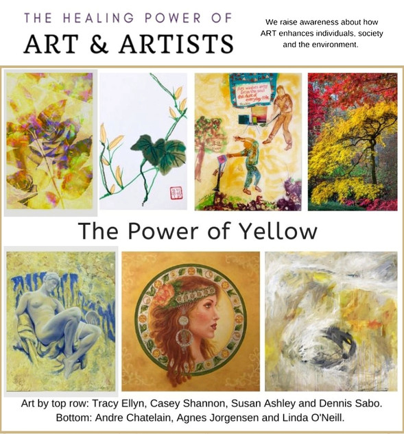 Tracy Ellyn Exhibition The Power of Yellow