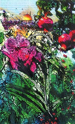 Steven Sotloff art memorial by Tracy Ellyn