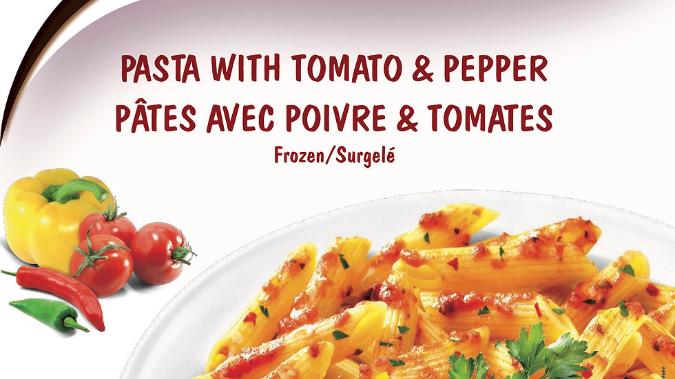 2. Pasta with Tomato and Pepper