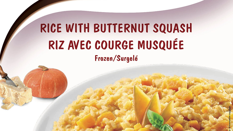 9. Rice with Butternut Squash