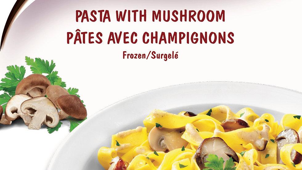 10. Pasta with Mushroom