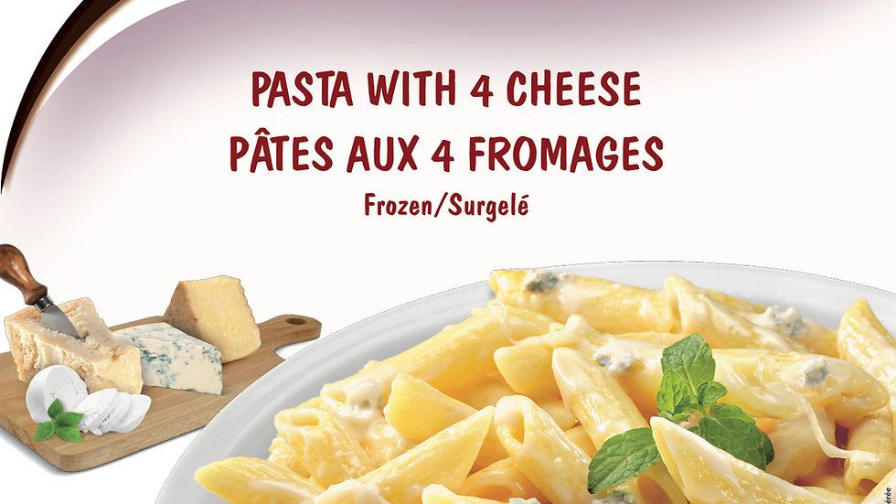 4. Pasta with 4 Cheese and Gorgonzola