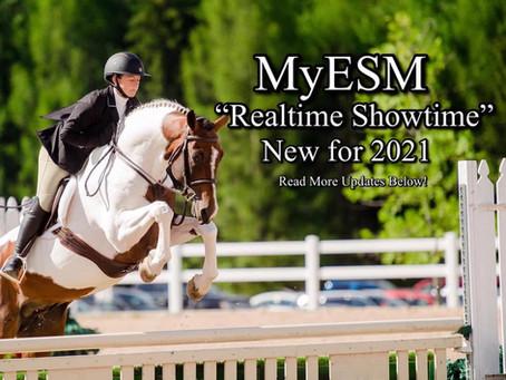 MyESM 2021 Updates