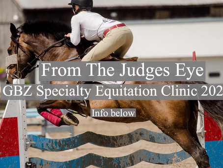 GBZ Equitation Clinic!