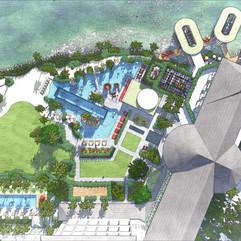 Hilton Hotel Tahiti, French Polynesia