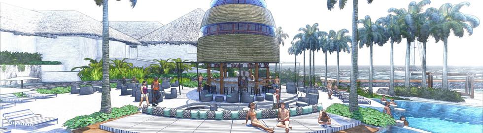 Hilton Bora Bora Nui Resort & Spa Topo D