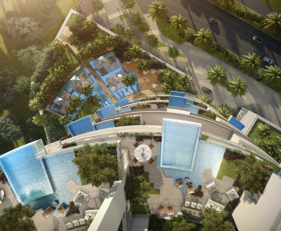 Five Jumeirah Village Hotel Topo Design