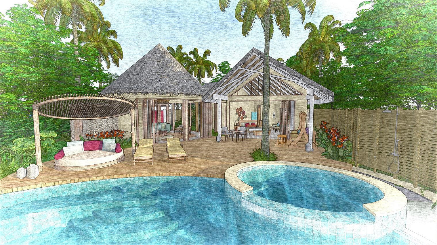 Milaidhoo maldives topo design studio landscape architects for Landscape design studio