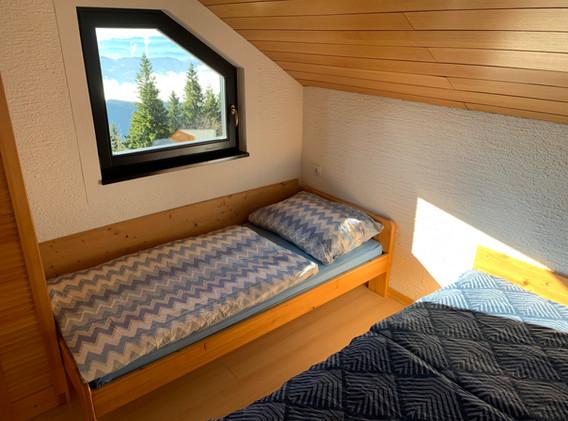spalnica, namestitev Kope