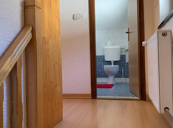 kopalnica zgornje nadstropje, namestitev Kope, apartma Kope