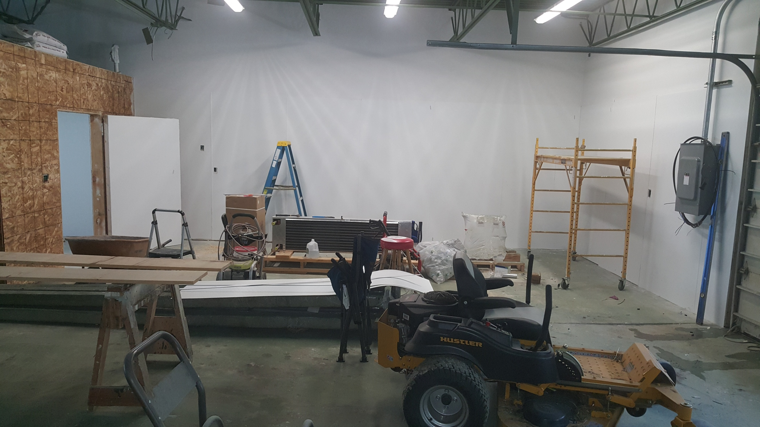 Future Brewing Area