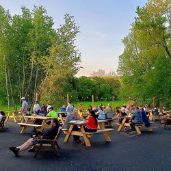 Nice night in the beer garden! #ctbeer #