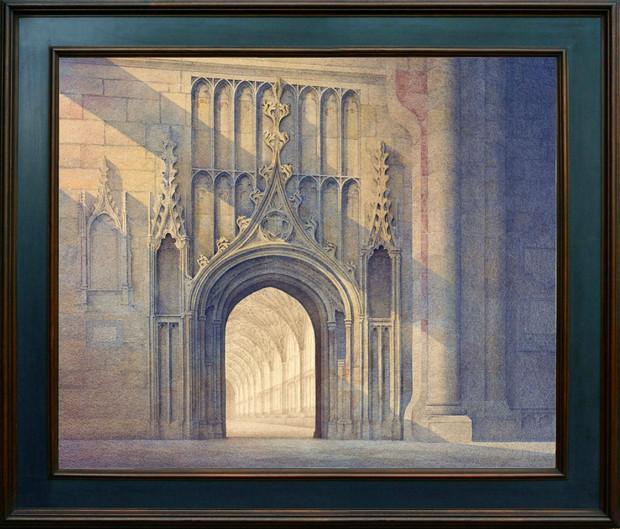 Door to the Cloisters, Gloucester