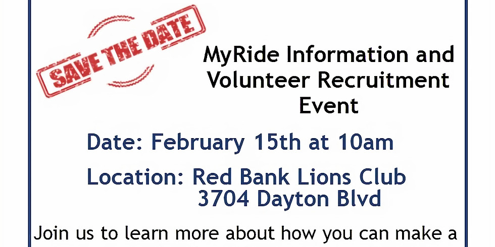 Hamilton County Information and Volunteer Recruitment Event
