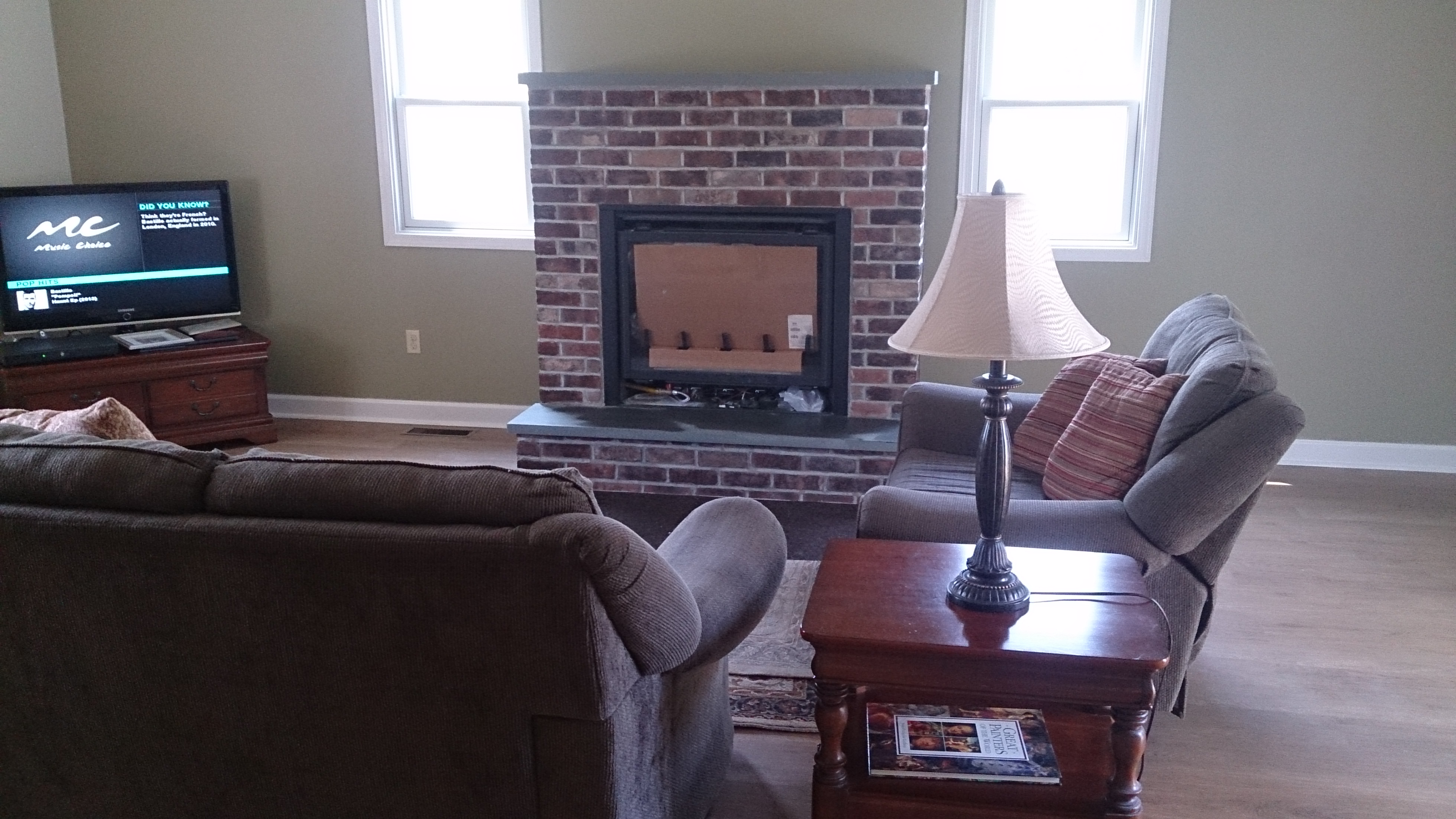 Steven Dipanfilo Brick Fireplace