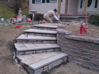 Flagstone Patios...Why is mine falling apart!