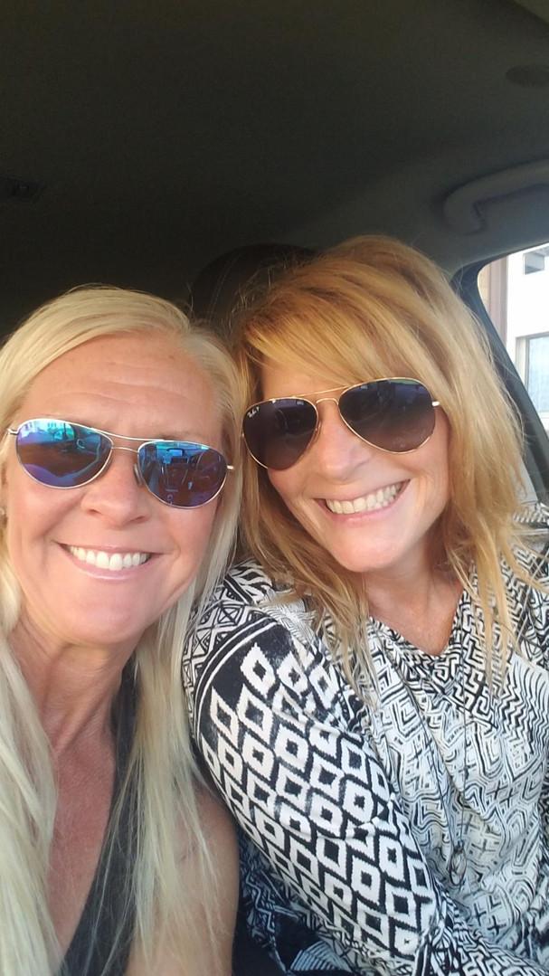 Jacqueline & Friend