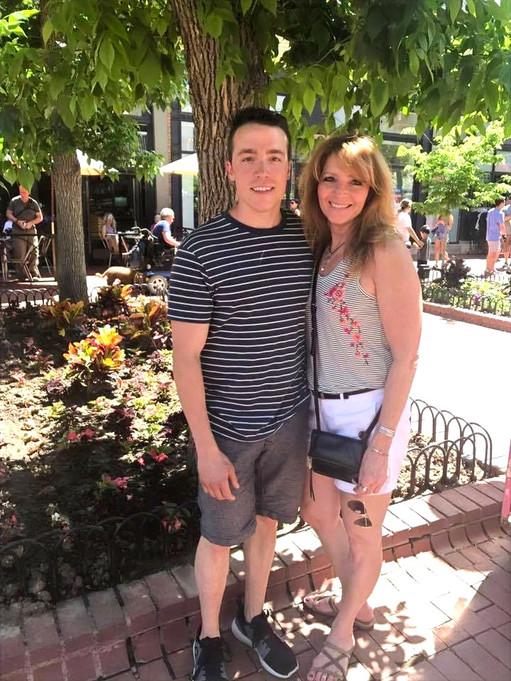 Jacqueline & Son Zack