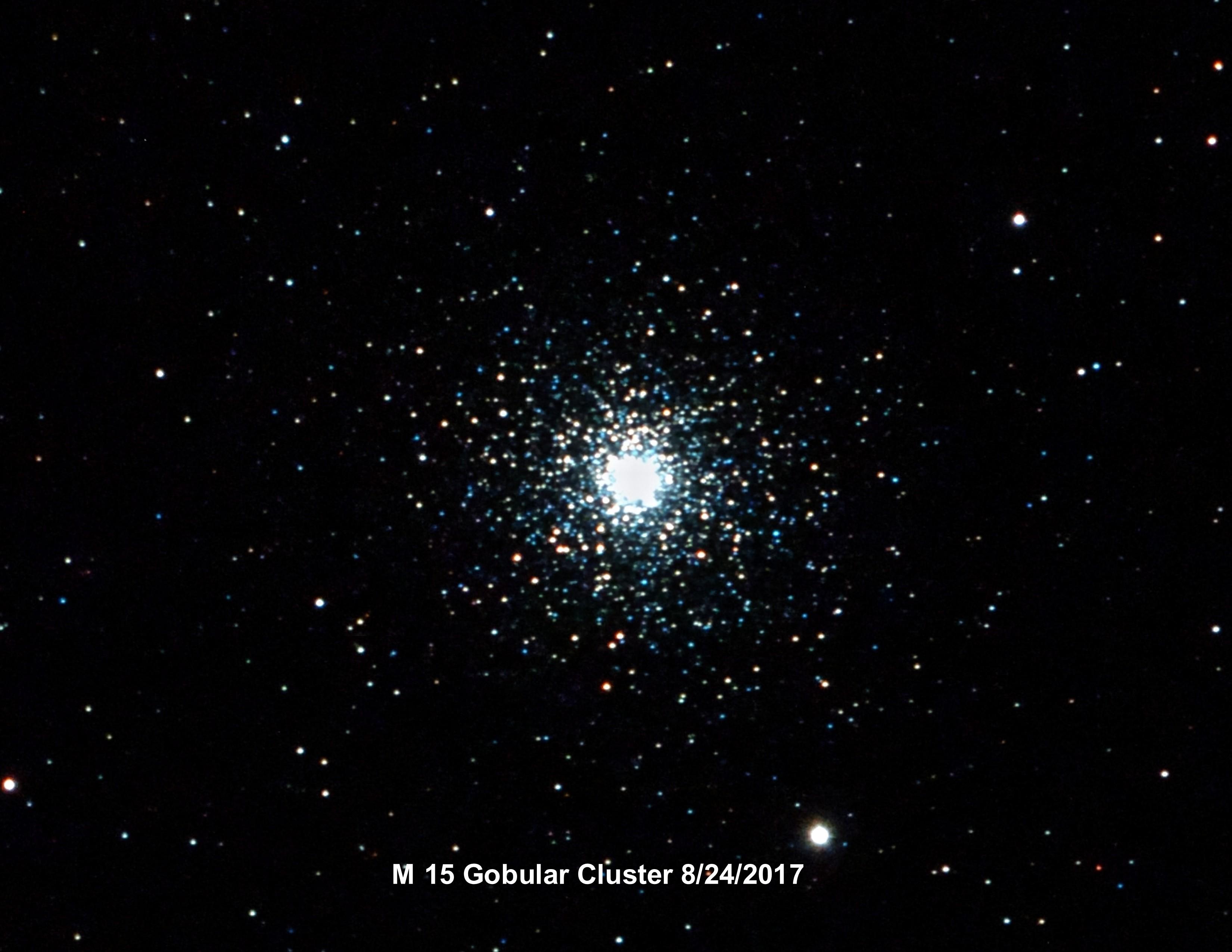m15 cluster