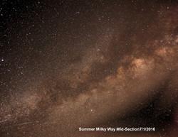 Summer Milky Way Mid